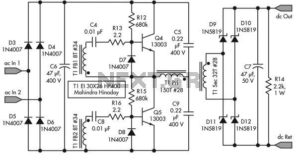 Similiar SMPS Circuit Design Keywords